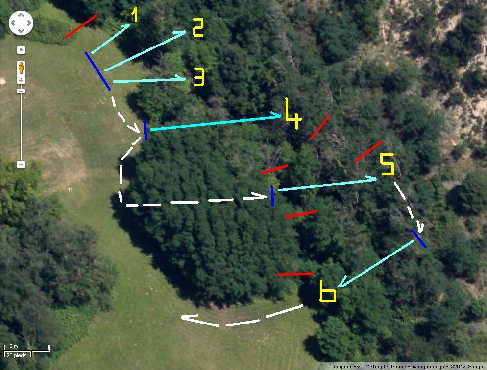 Parcours TAC terrain des Etroits (décembre 2012)