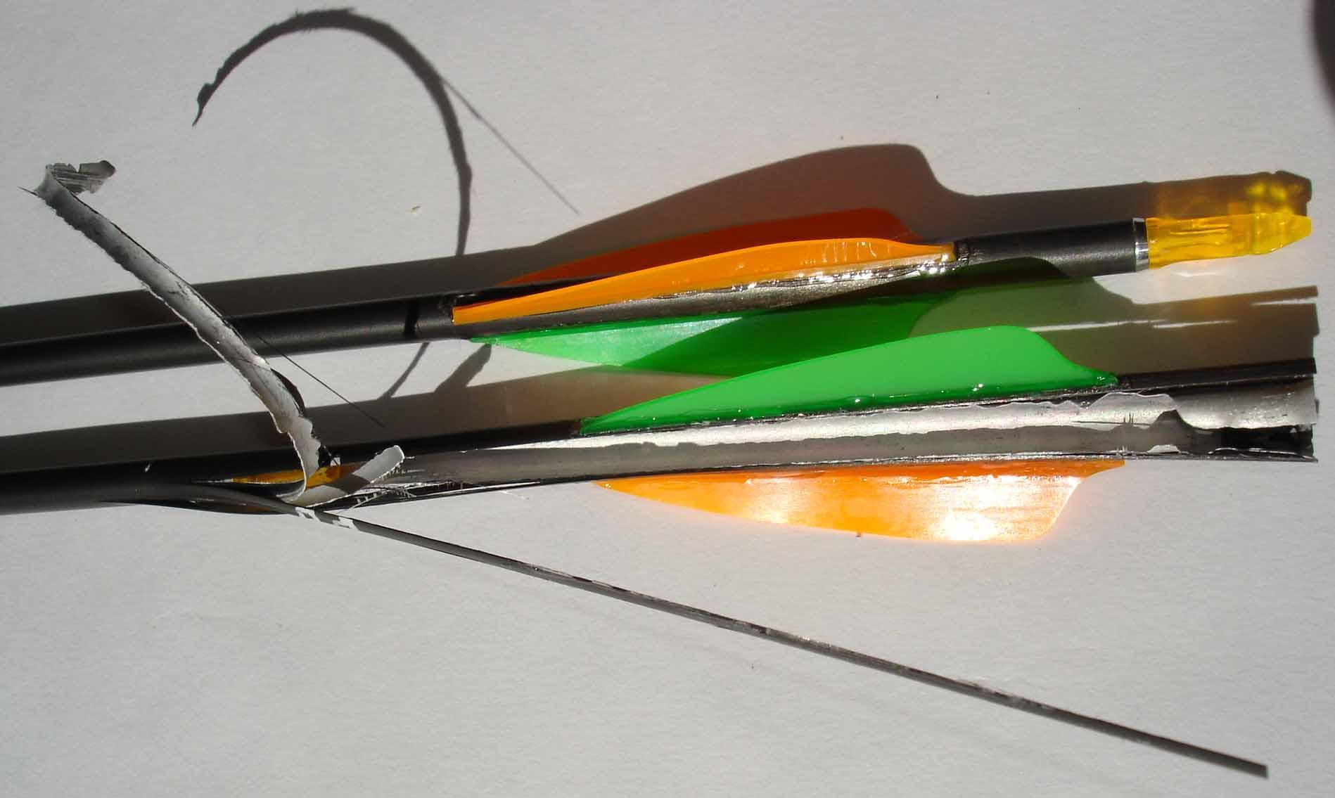 encoche de flèches pour arcs