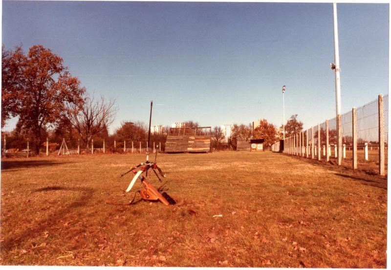 Terrain de tir extérieur de Gironis en 1982