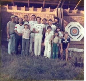 Tir du Roy en 1978 à Gironis